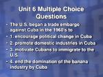 unit 6 multiple choice questions32