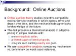 background online auctions