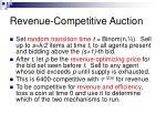 revenue competitive auction40