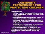 community partnerships for protecting children5