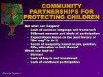 community partnerships for protecting children7