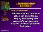 leadership lesson49