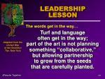 leadership lesson65