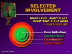selected involvement