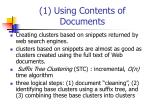 1 using contents of documents