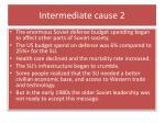 intermediate cause 2