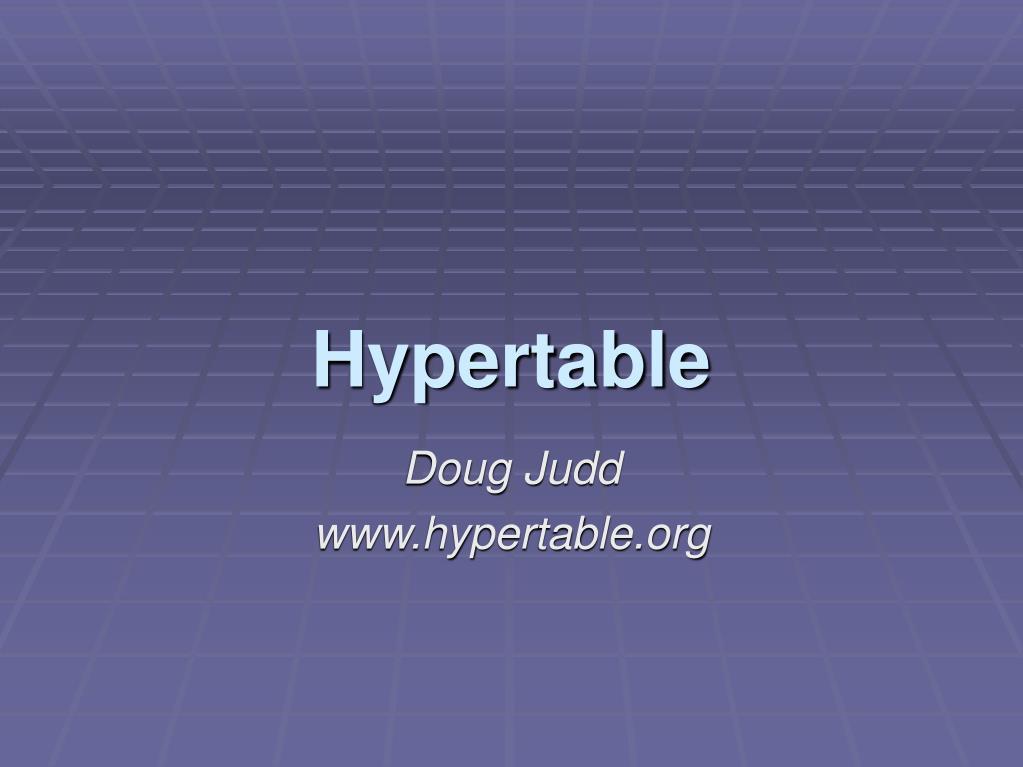 hypertable l.