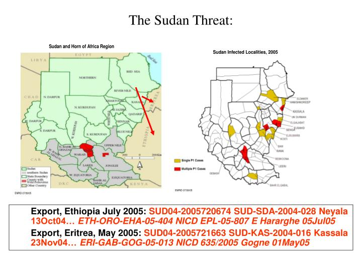 The Sudan Threat: