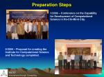 preparation steps