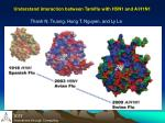 understand interaction between tamiflu with h5n1 and a h1n1