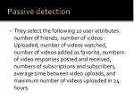 passive detection14