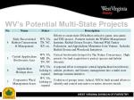 wv s potential multi state projects14