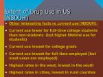 extent of drug use in us nsduh14