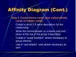 affinity diagram cont23