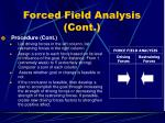 forced field analysis cont10
