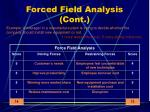 forced field analysis cont11