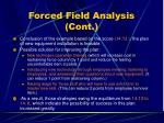 forced field analysis cont12