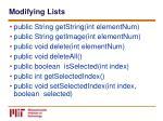 modifying lists55