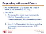responding to command events26