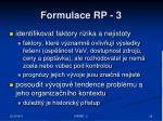 formulace rp 3