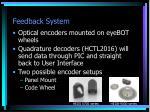 feedback system