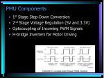 pmu components