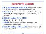 kerberos v4 concepts