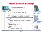 sample kerberos exchange