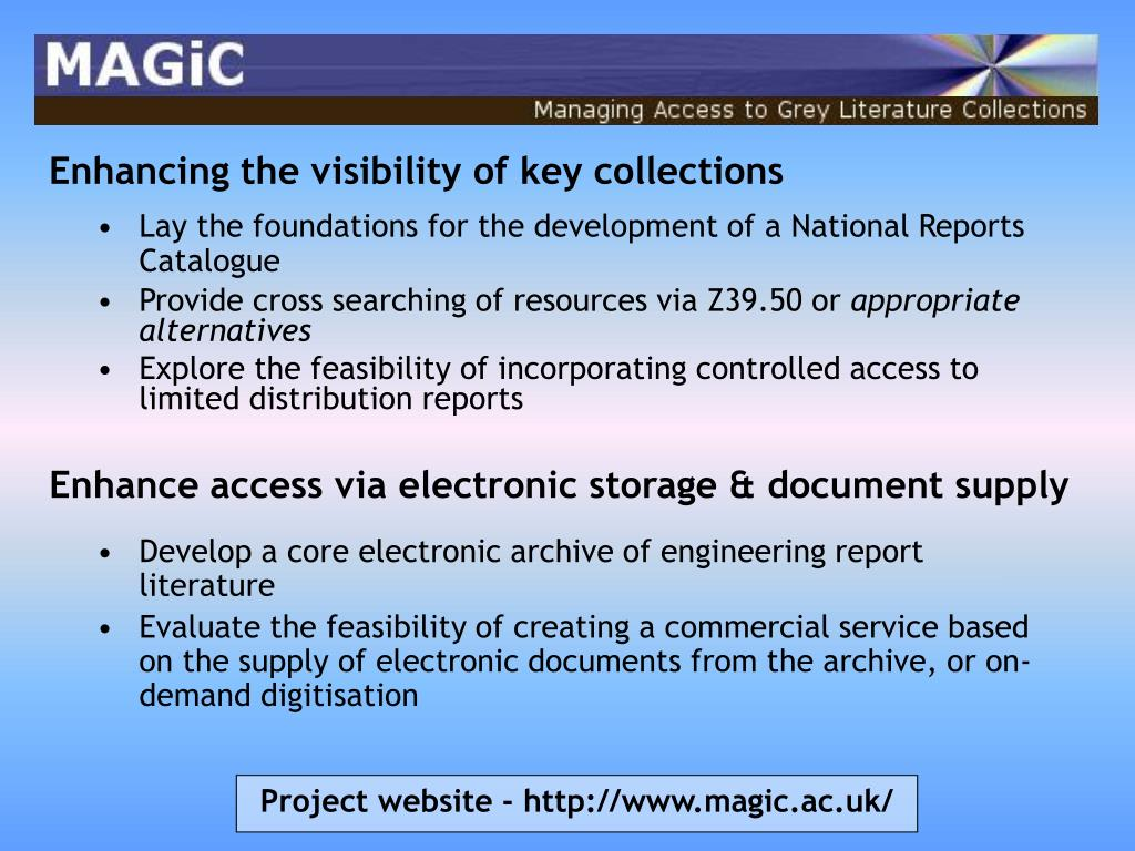 Enhancing the visibility of key collections