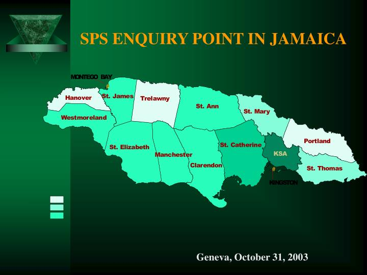 Sps enquiry point in jamaica