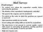 mail surveys19