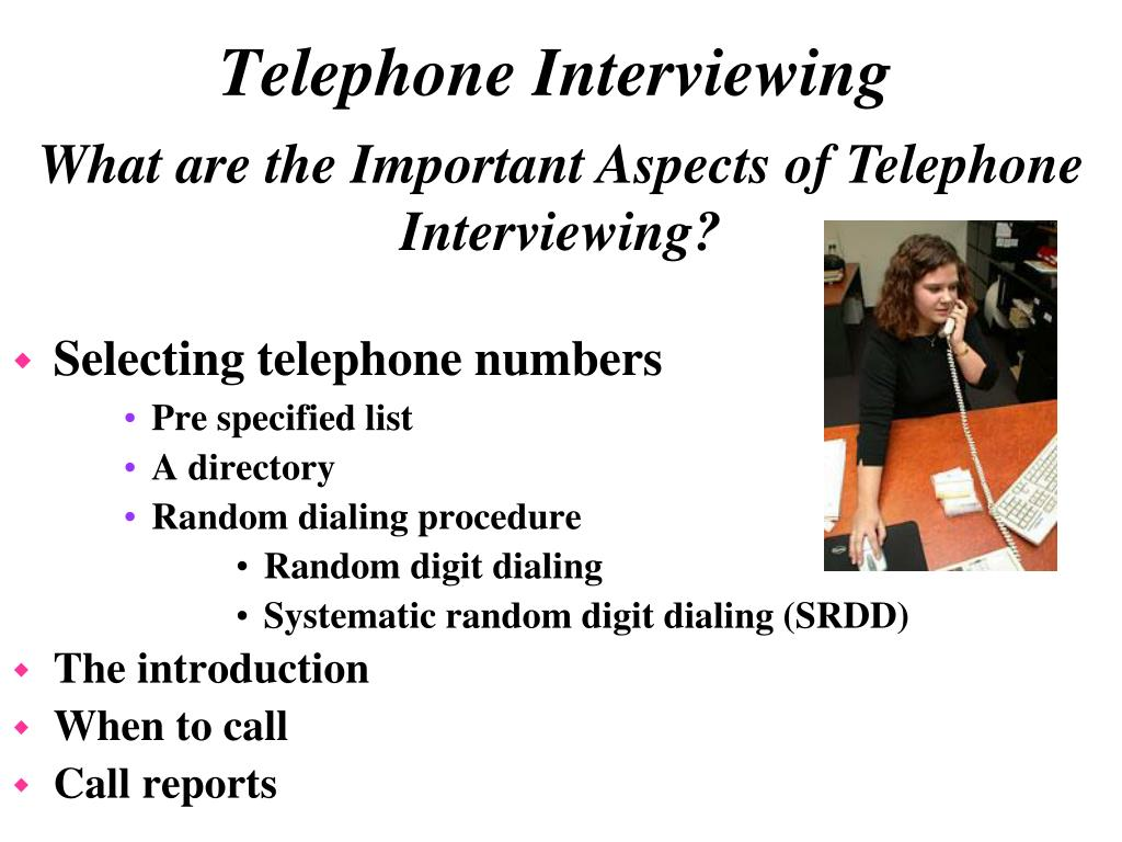 Selecting telephone numbers