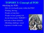 topoff 3 concept of pod14