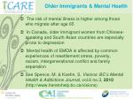 older immigrants mental health