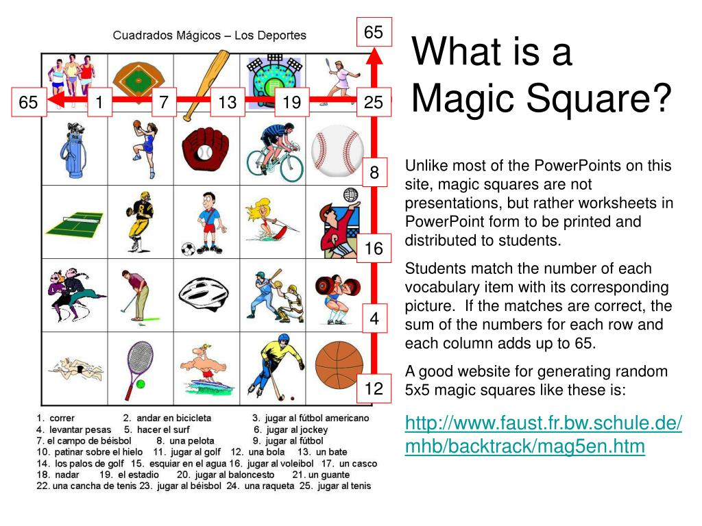 PPT - What is a Magic Square? PowerPoint Presentation - ID:69885