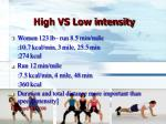 high vs low intensity8