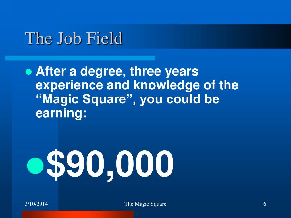 The Job Field