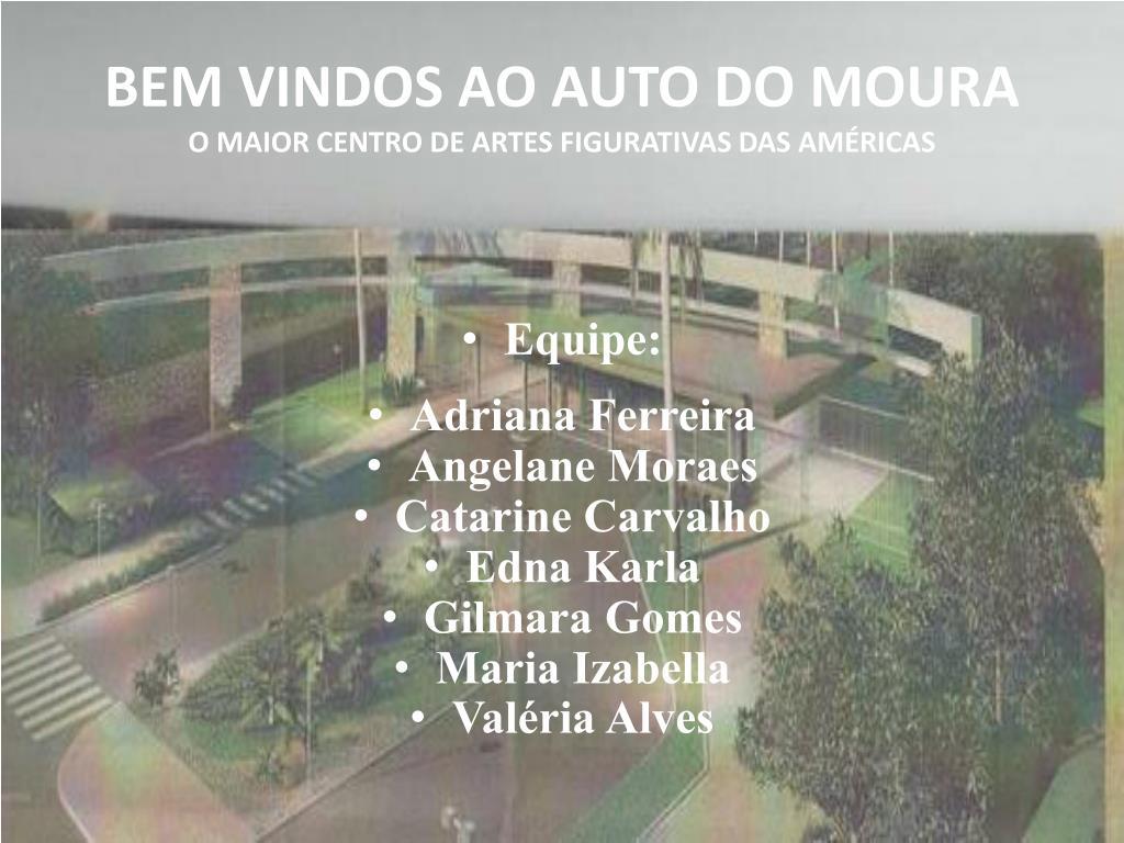 bem vindos ao auto do moura o maior centro de artes figurativas das am ricas l.