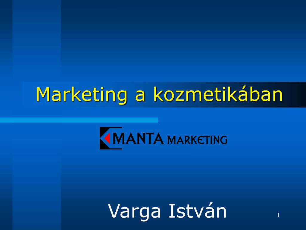 marketing a kozmetik ban l.