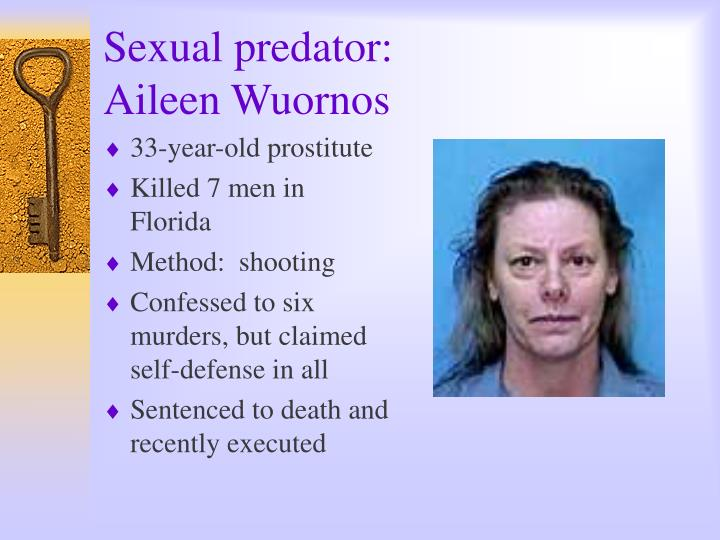 aileen wuornos essay example A sexually sadistic serial killer profile english literature essay this is not an example of the introduced its viewers to a woman named aileen wuornos.