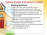 differentiated instruction in math24