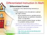 differentiated instruction in math25