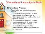 differentiated instruction in math26