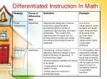 differentiated instruction in math28