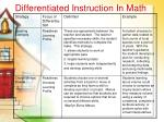 differentiated instruction in math30