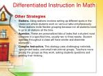 differentiated instruction in math31
