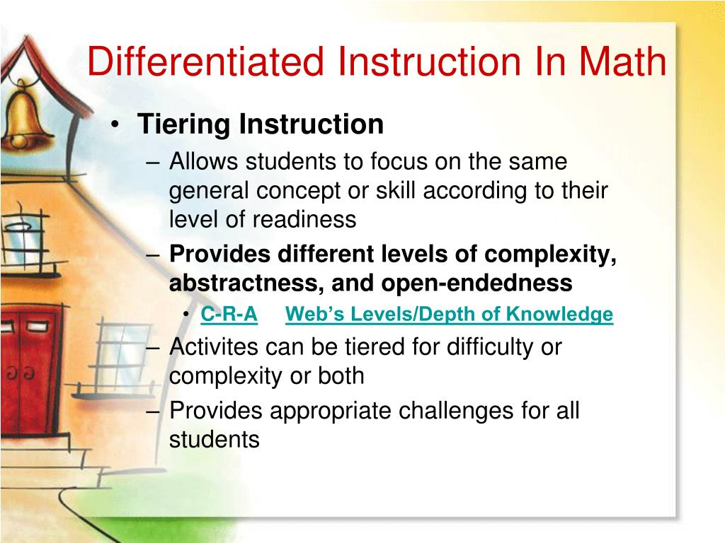 Dissertation abstracts on differentiated instruction