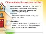 differentiated instruction in math37