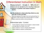 differentiated instruction in math39