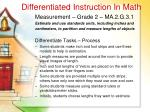 differentiated instruction in math40